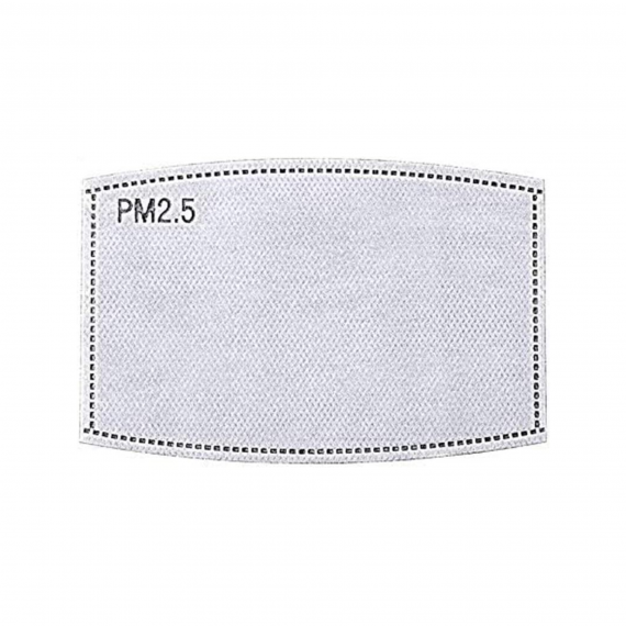 PM 2.5 Activated Carbon Filters for Face Mask | USA - Buy Online